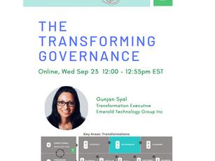 The Transforming Governance (Sep 23, 2020)