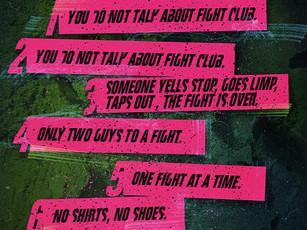 (non)Fight Club Rules (Free)