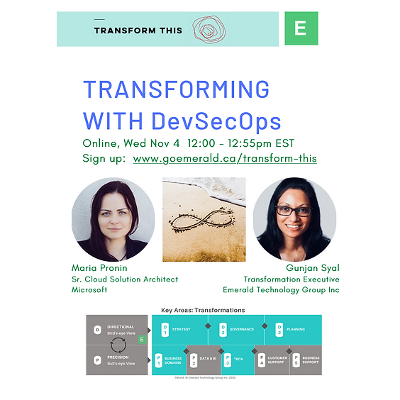 Transforming With DevSecOps