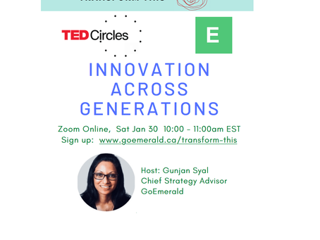 Innovation Across Generations: TED Circles (Jan 2021)