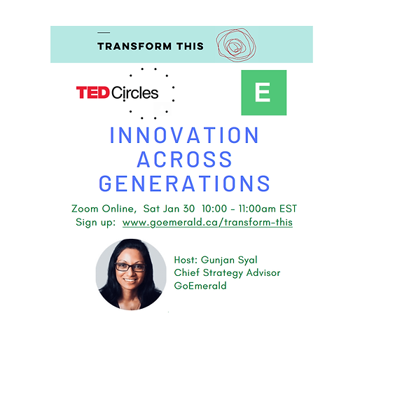 TED Circles: Innovation Across Generations