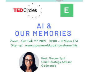 AI & Our Memories: TED Circles (Free)