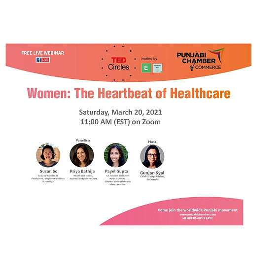 Women: The Heartbeat of Healthcare (Cost: Free)