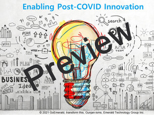 Enabling Post-COVID Innovation ($65)
