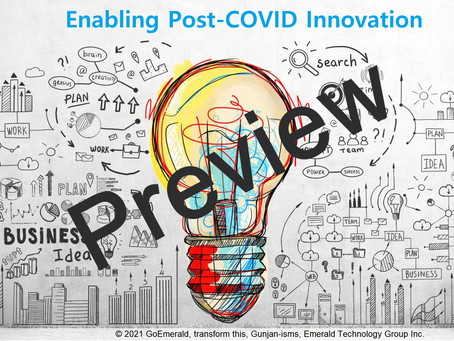 PREVIEW: Enabling Post-COVID Innovation (Jan 2021)