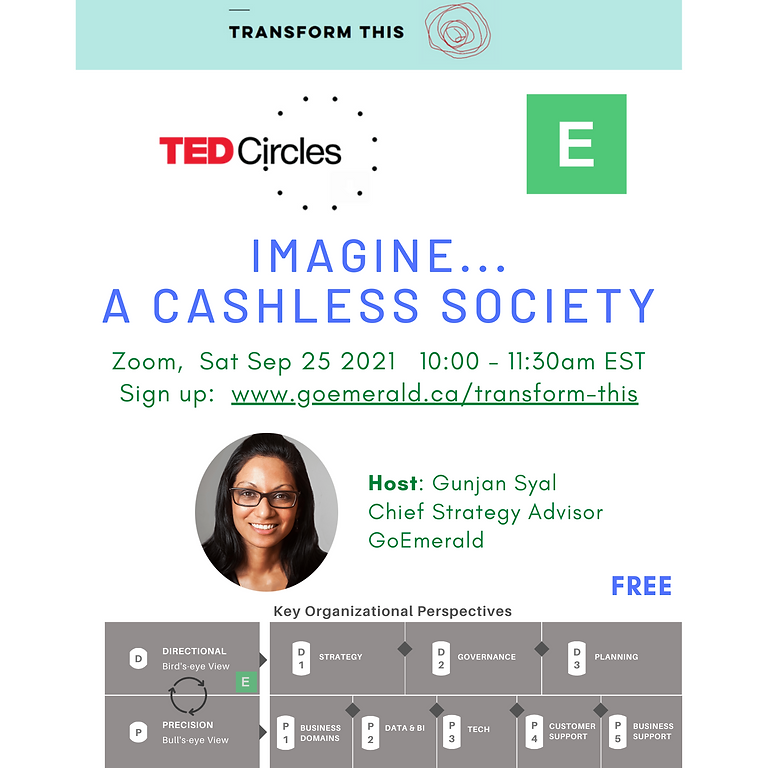 TED Circles: A Cashless Society (Free)
