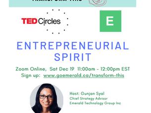 Entrepreneurial Spirit: TED Circle (Free)