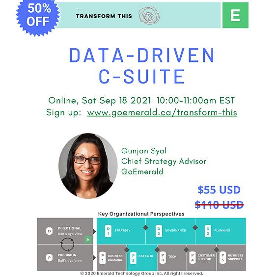 Data-Driven C-Suite ($55)