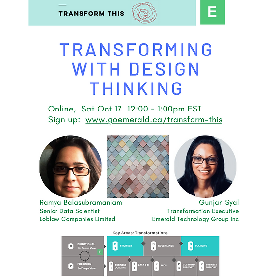 Transforming With Design Thinking