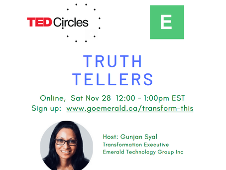 Truth Tellers: TED Circle (Nov 28, 2020)