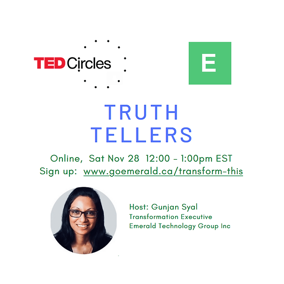 TED Circle: Truth Tellers