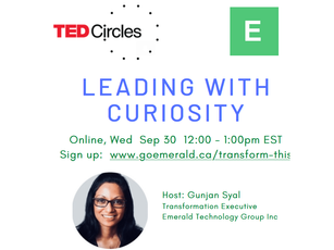 Leading With Curiosity: TED Circle (Free)
