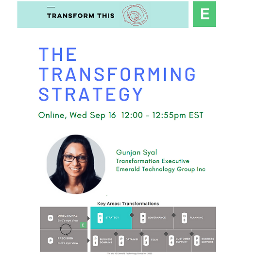 The Transforming Strategy