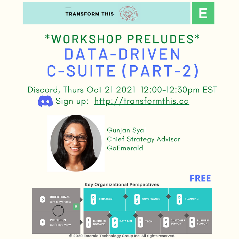 PRELUDES: Data-Driven C-Suite Part-2 (Discord)