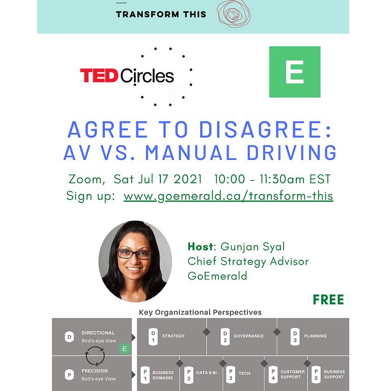 TED Circles: Automated Vehicles vs. Manual Driving (Free)