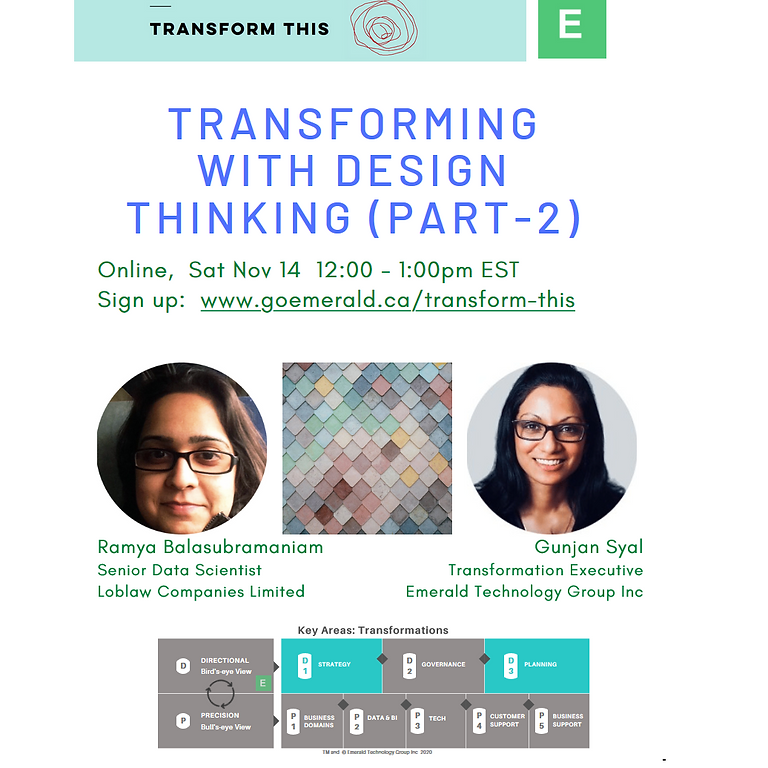 Transforming With Design Thinking (Part-2)