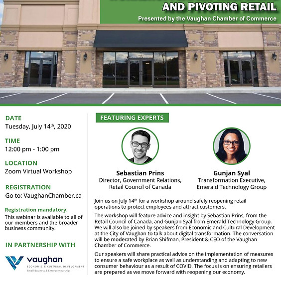 Workshop: Safely Reopening and Pivoting Retail