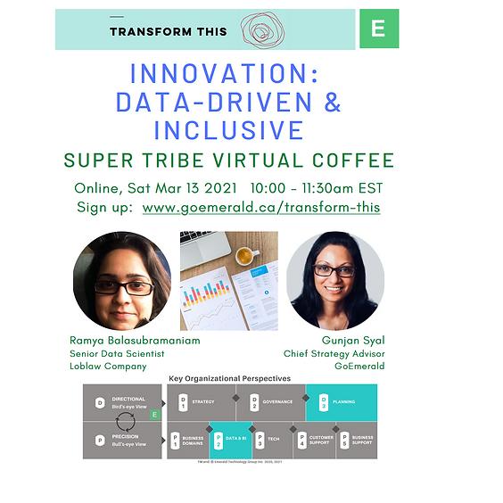 Innovation: Data-Driven & Inclusive (Cost: $5)