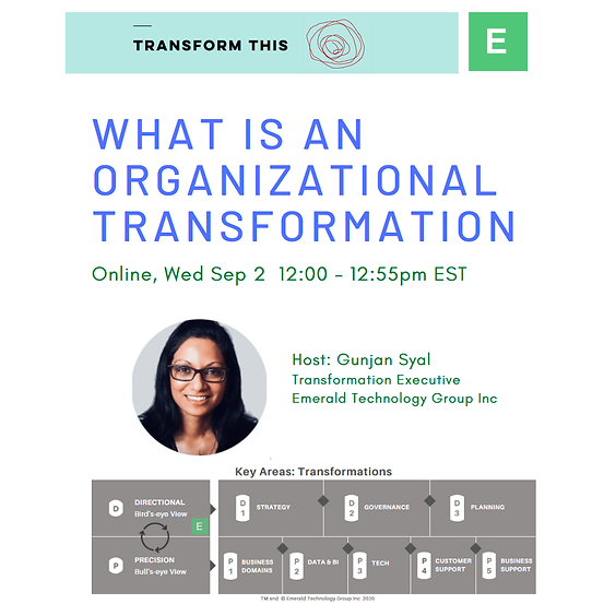 What is an Organizational Transformation?
