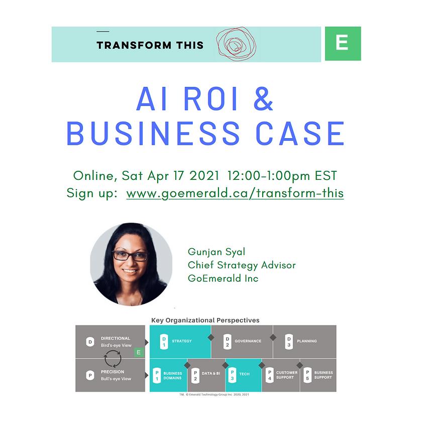 AI ROI & Business Case (Cost: US$10)