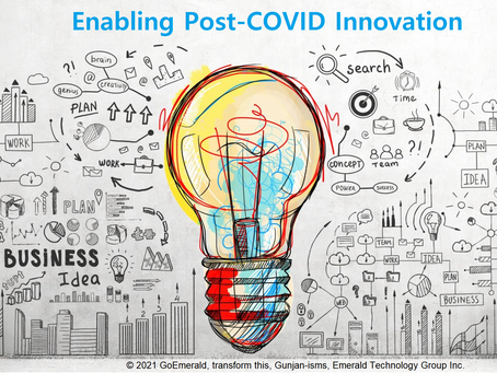 Enabling Post-COVID Innovation (Jan 2021)