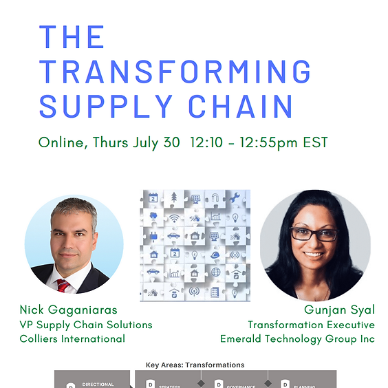 The Transforming Supply Chain