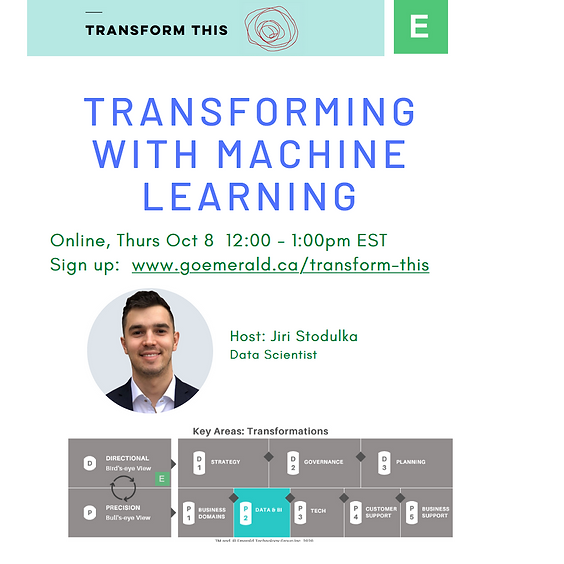 Transforming With Machine Learning