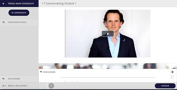 e-learning leren presenteren