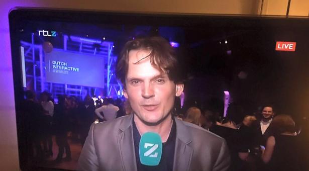 Live vanaf locatie voor RTL Z