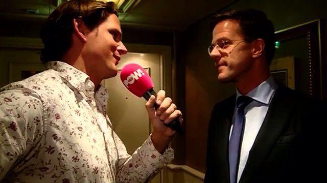 In gesprek met Mark Rutte voor PowNews