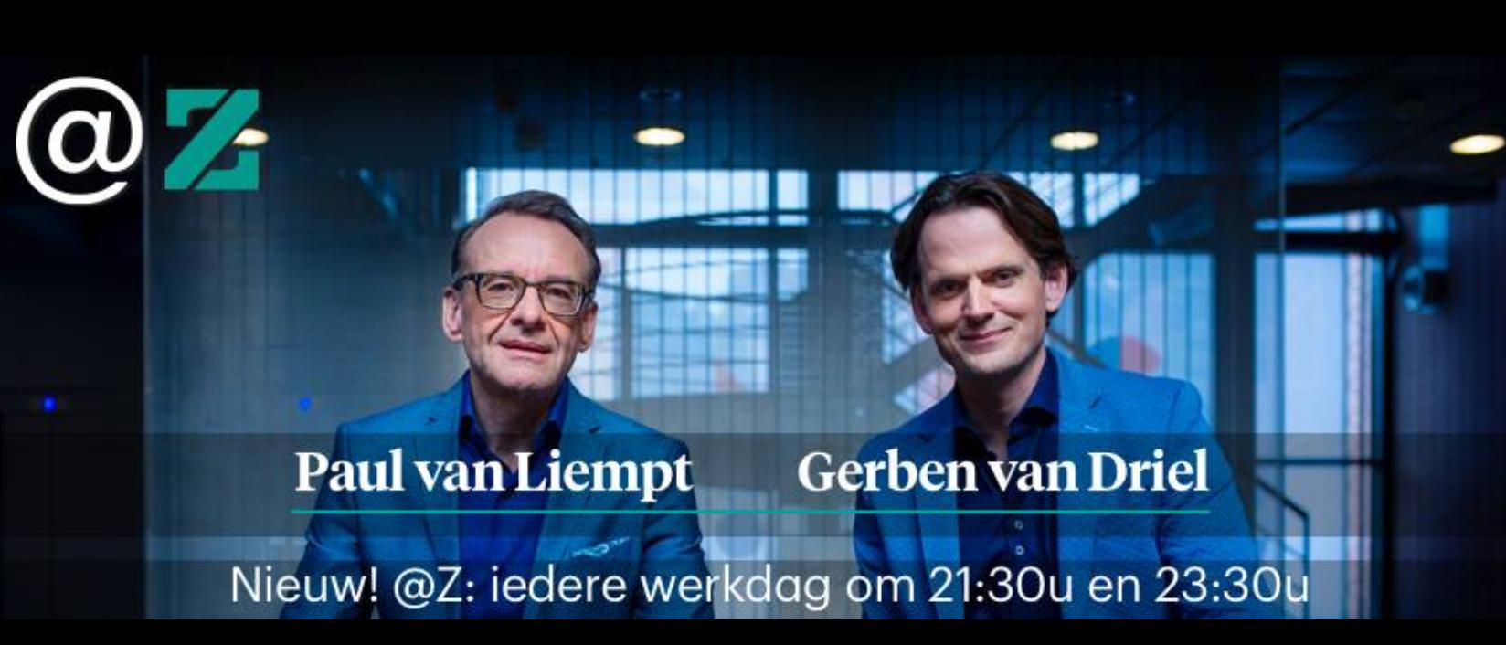 Aankondiging nieuw programma met BNR-presentator Paul van Liempt