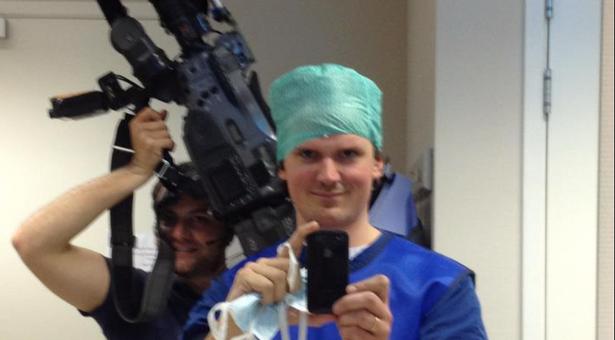 In het ziekenhuis voor RTL-programma Dit is mijn lijf!