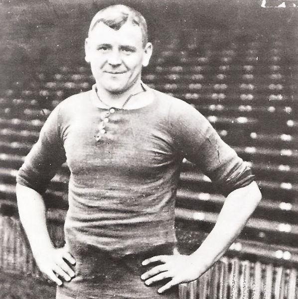 Charlie Roberts in 1911 - 1912 Home Kit.