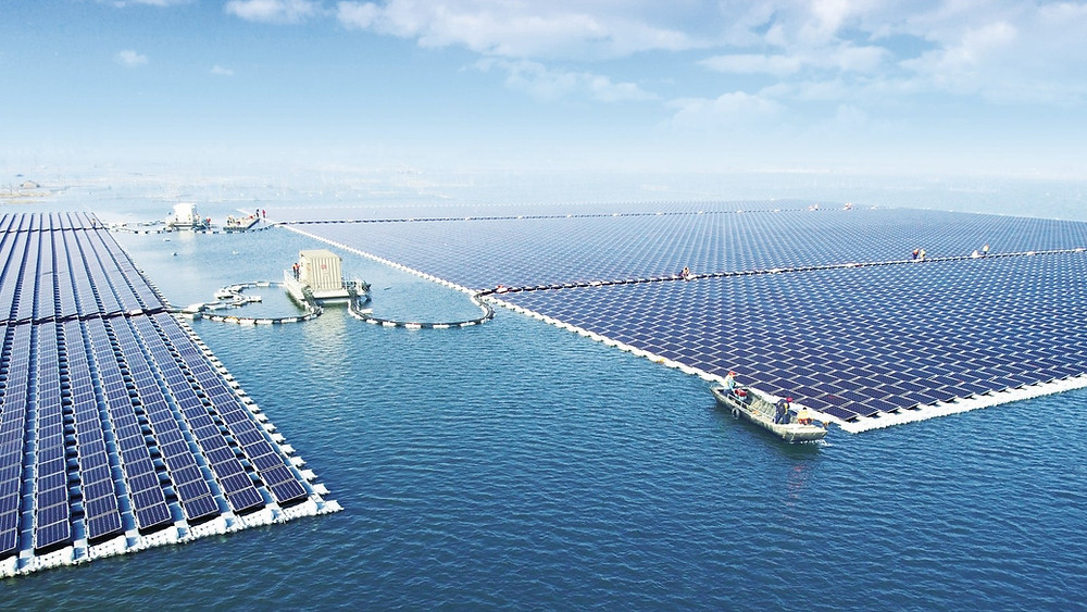 New solar technologies will be build offshore.