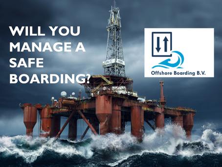 Projectleider productontwikkeling offshore; ga jij mensen veilig offshore boarden?