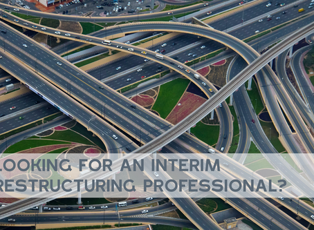 Looking for someone who does take the right turn? An interim restructuring specialist to rely on.
