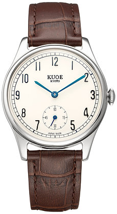 KUOE OLD SMITH 90-001 Japan made Blue hands with arabic index dial
