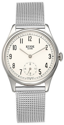 KUOE OLD SMITH 90-001 Japan made Silver hands with arabic index dial