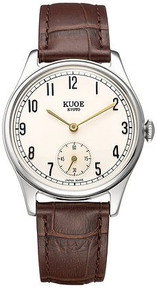KUOE OLD SMITH 90-001 Japan made Gold hands with arabic index dial