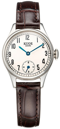KUOE Holborn 90-003 Japan Made Silver Arabic Index Dial