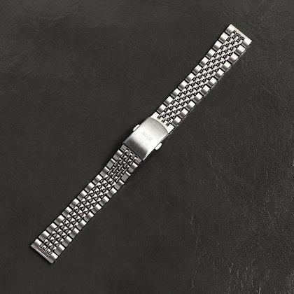 KUOE クオ ステンレス シルバーベルト ベルト調節工具付き