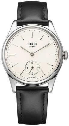 KUOE OLD SMITH 90-001 Japan made Silver hands with bar index dial