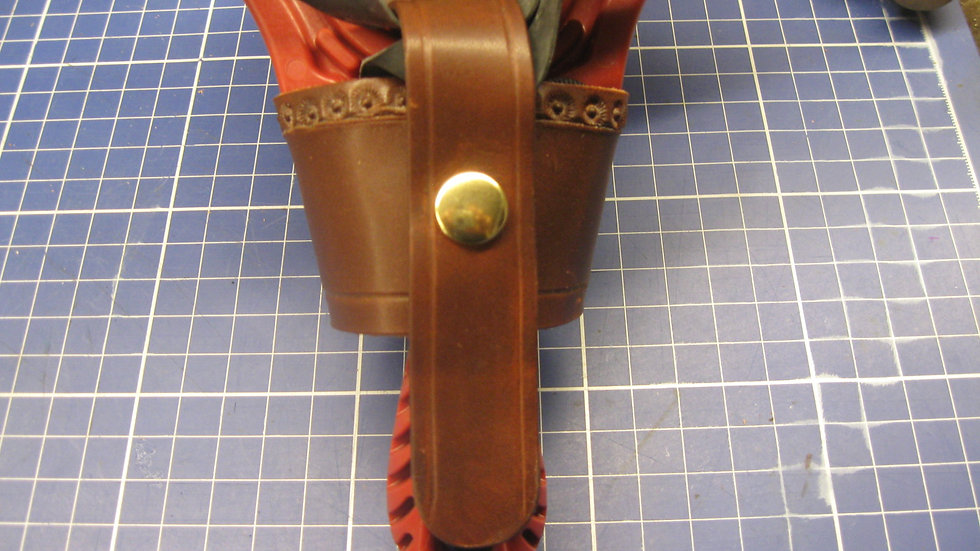 Universal Slingshot Holster made from Horween Dublin Leather