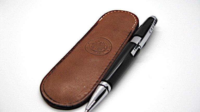 Elegant Pencil Pen Slip Case Lined with sheepSkin