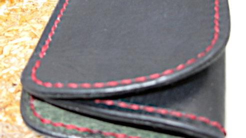 Minimalist Wallet RFID Blocking, Wallet Business Card Holder, Leather ID wallet