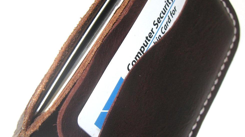 Badalassi Carlo Minimalist Wallet, Leather ID wallet, Leather card holder,