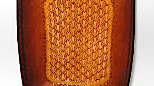 Leather Valet Tray   Office Desk Organizer   Catchall   Decorative Tray