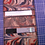 Thumbnail: Leather Marble Business Card Holder, Credit card holder, 4 Pockets Bi-Fold