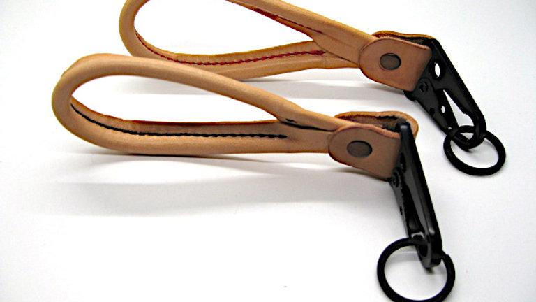 Leather Keychain Key Fob Key ring