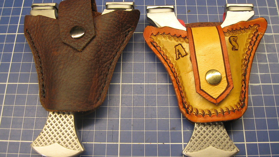 Slingshot Holster made from Buffalo Leather practical and look nice